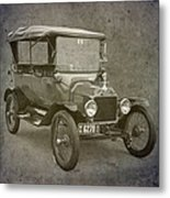 Ford Model T Metal Print by Angie Vogel