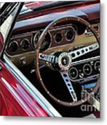 Ford Mustang Metal Print by Andres LaBrada