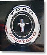 Ford Mustang Emblem Metal Print