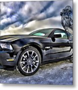Ford Mustang - Featured In Vehicle Eenthusiast Group Metal Print