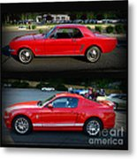 Ford Mustang Old Or New Metal Print