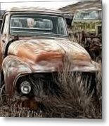 Ford Old Pickup Metal Print