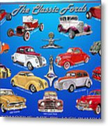 Another Ford Poster Metal Print
