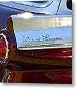 Ford Ranch Wagon Metal Print
