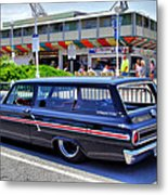 Ford Ranch Wagon Metal Print by Thomas  MacPherson Jr