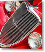 Ford Roadster V8 Metal Print