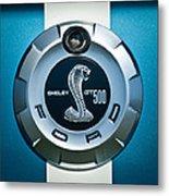 Ford Shelby Gt 500 Cobra Emblem Metal Print