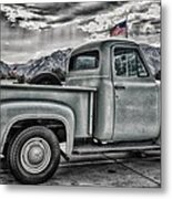 Ford Side View Dramatic Ssc Metal Print