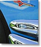 Ford Thunderbird Emblem -0505c Metal Print