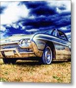Ford Thunderbird Hdr Metal Print