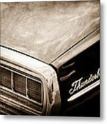 Ford Thunderbird Taillight Emblem Metal Print