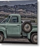 Ford Total Side View Metal Print