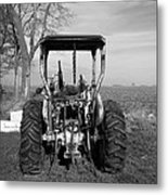 Ford Tractor Rear View Metal Print