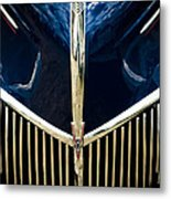 Ford V8 Grill Metal Print by Phil 'motography' Clark
