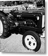 Fordson Major Diesel Classic Tractor During Vintage Tractor Rally At Glenarm Castle Open Day County Antrim Northern Ireland Metal Print