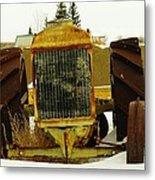 Fordson Tractor Plentywood Montana Metal Print