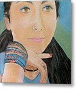 Foreign Exchange Student Metal Print