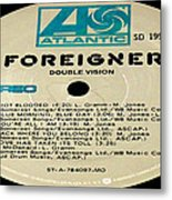 Foreigner Double Vision Side 1 Metal Print