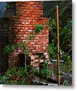 Forest Chimney Metal Print