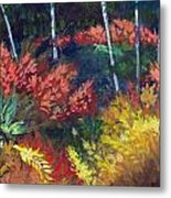 Forest Glade Metal Print