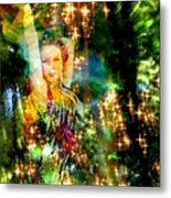 Forest Goddess 4 Metal Print