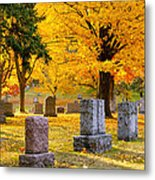 Autumn At Forest Hill Metal Print