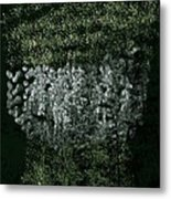 Forest On The Mountainside Metal Print