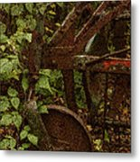 Forest Reclaimed Metal Print by Jack Zulli