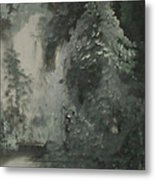 Forest Shore Metal Print
