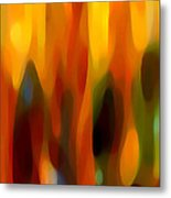 Forest Sunlight Horizontal Metal Print