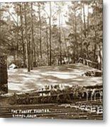 Forest Theater Carmel California  Circa 1930 Metal Print