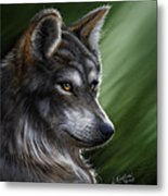 Forest Warrior Metal Print