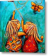 Forever Friends Metal Print by Karin Taylor