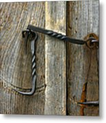 Forged Locks Metal Print