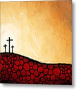 Forgiven - Christian Art By Sharon Cummings Metal Print