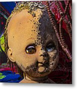 Forgotten Baby Doll Metal Print