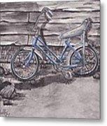 Forgotten Banana Seat Bike Metal Print