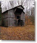 Forgotten Barn Metal Print