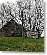 Forgotten Barn Metal Print
