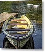 Forgotten Boat Metal Print