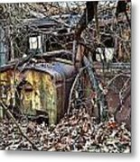 Forgotten Delivery Metal Print