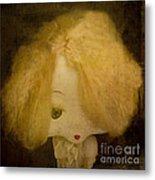 Forgotten Doll Metal Print