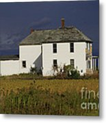Forgotten Farm House Metal Print
