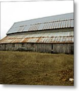 Forgotten Farmstead Metal Print
