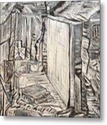 Forgotten Halls Metal Print