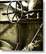 Forgotten Machine 4710 Metal Print