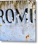 Forgotten Promise Metal Print