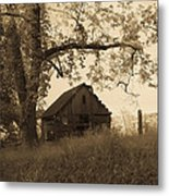 Forgotten Metal Print by Robert J Andler