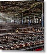 Forgotten Silk Mill Metal Print by Susan Candelario