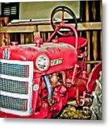 Forgotten Tractor Metal Print